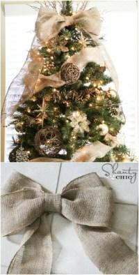 50 Beautiful Rustic Christmas Decorations - Hative
