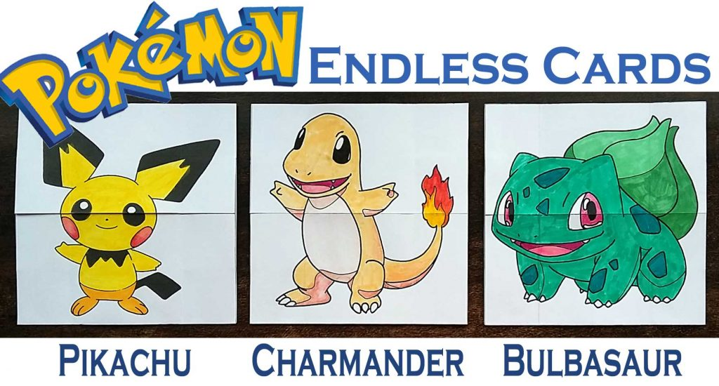 Paper Toys Pokemon Evolution ENDLESS CARDS - Hattifant