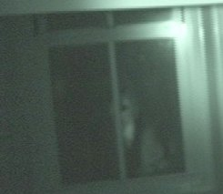 Haunted Jordan Springs Window Image Close Up
