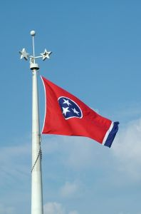 Tennessee State Flag; photo from stock.xchng