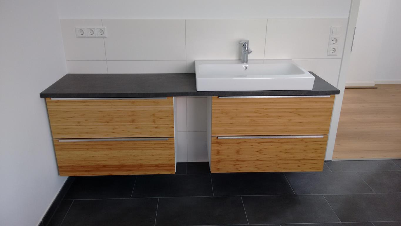 Ikea Kuche Arbeitsplatte Behandeln Bambus Projekt Haus