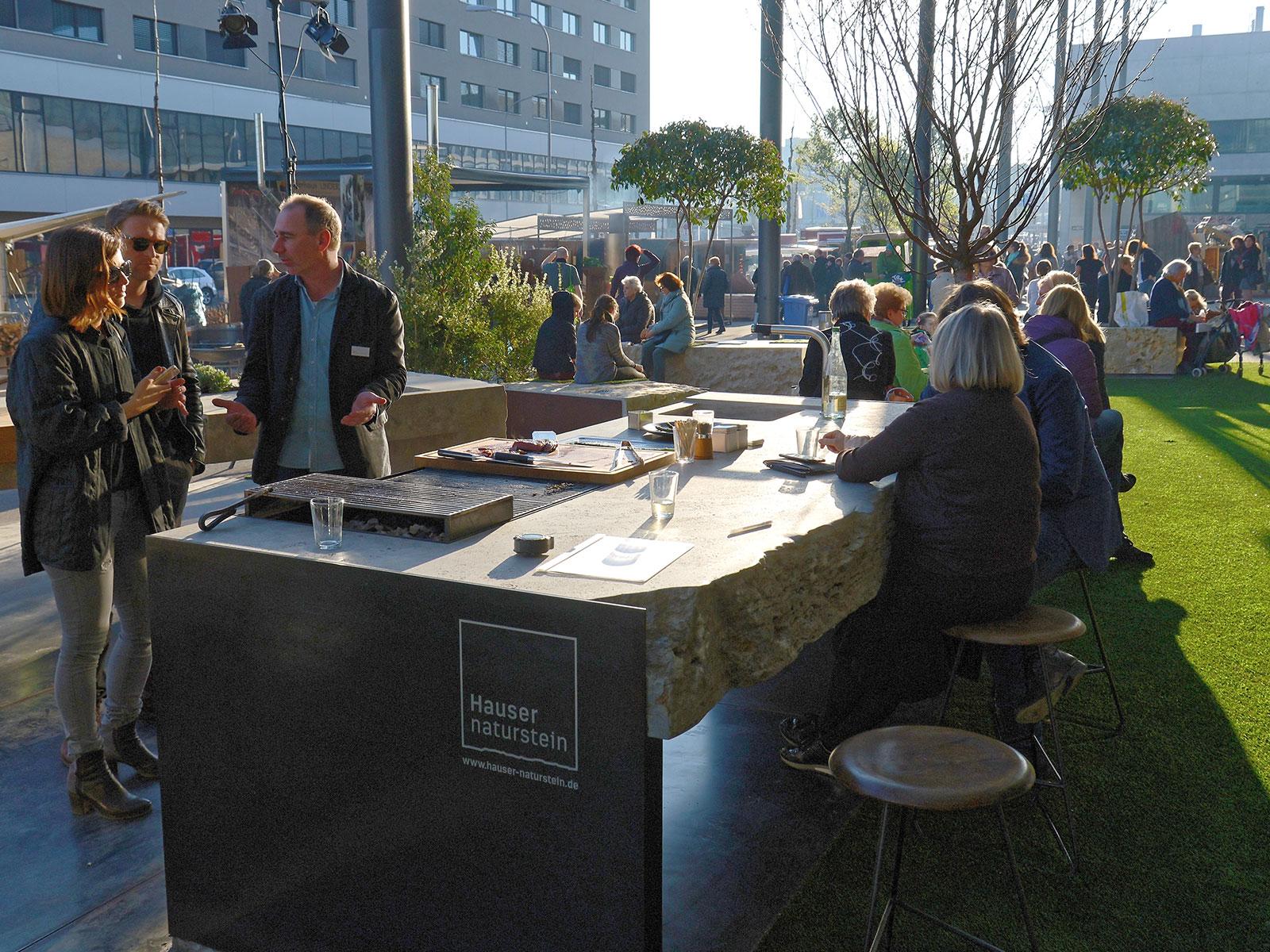 Outdoor Küche Rosenheim : Hauser outdoor küche hauser naturstein