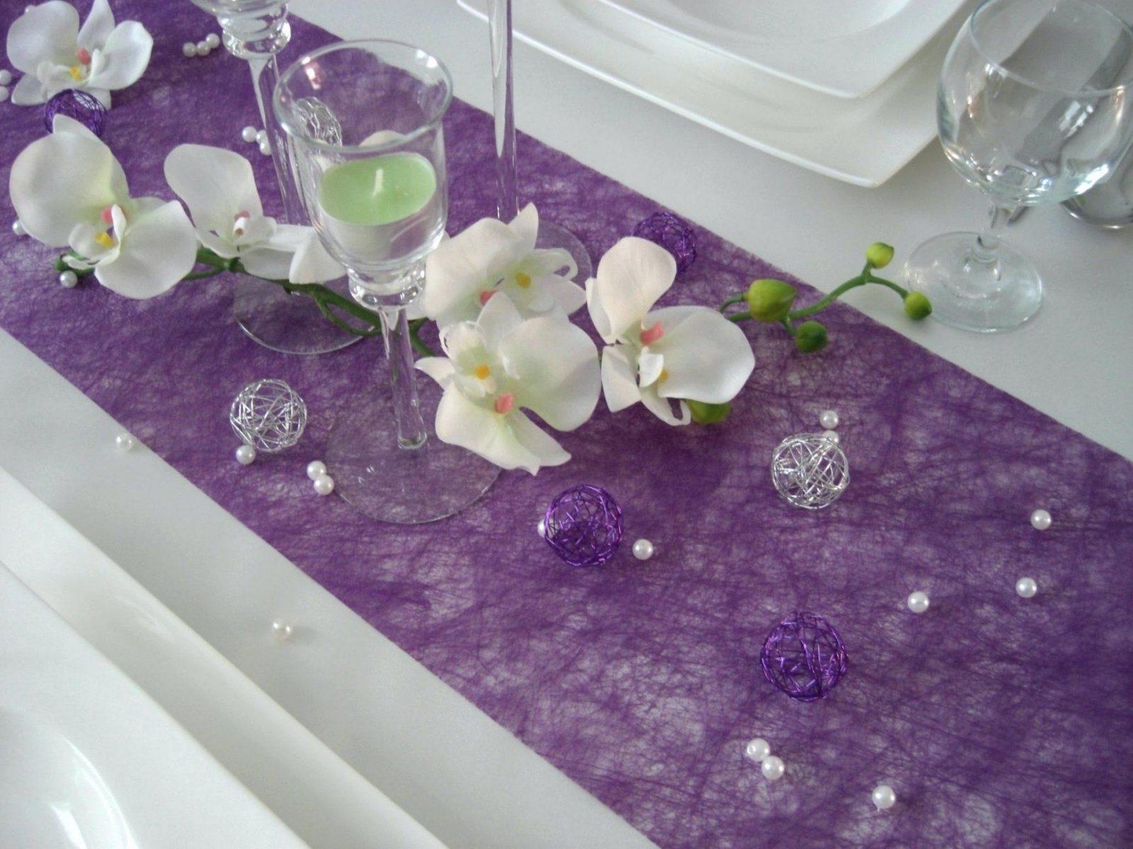 Tischdeko Lila Konfetti 60 Geburtstag Jubilaum Streudeko Tisch