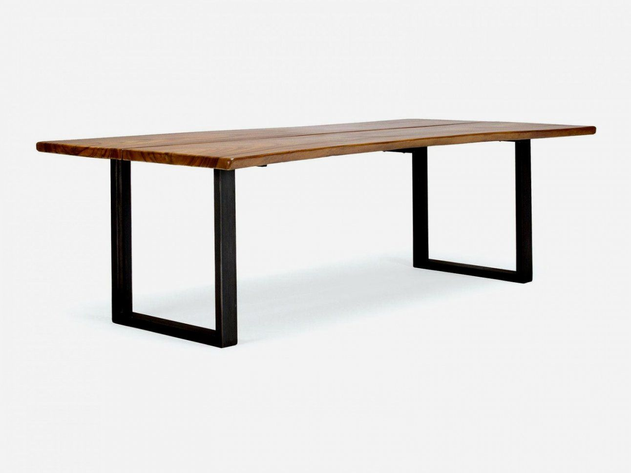 Tisch Metall Tisch Weiss Naturholz Esstisch Industrie Weiss Tisch