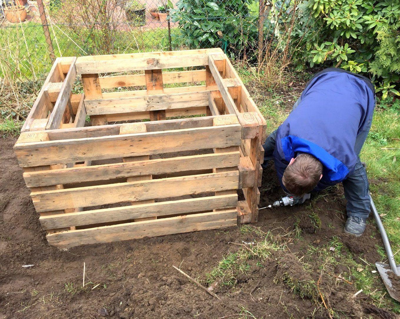 Bauanleitung Fur Hochbeet Aus Paletten Hochbeet Bauen Bauanleitung