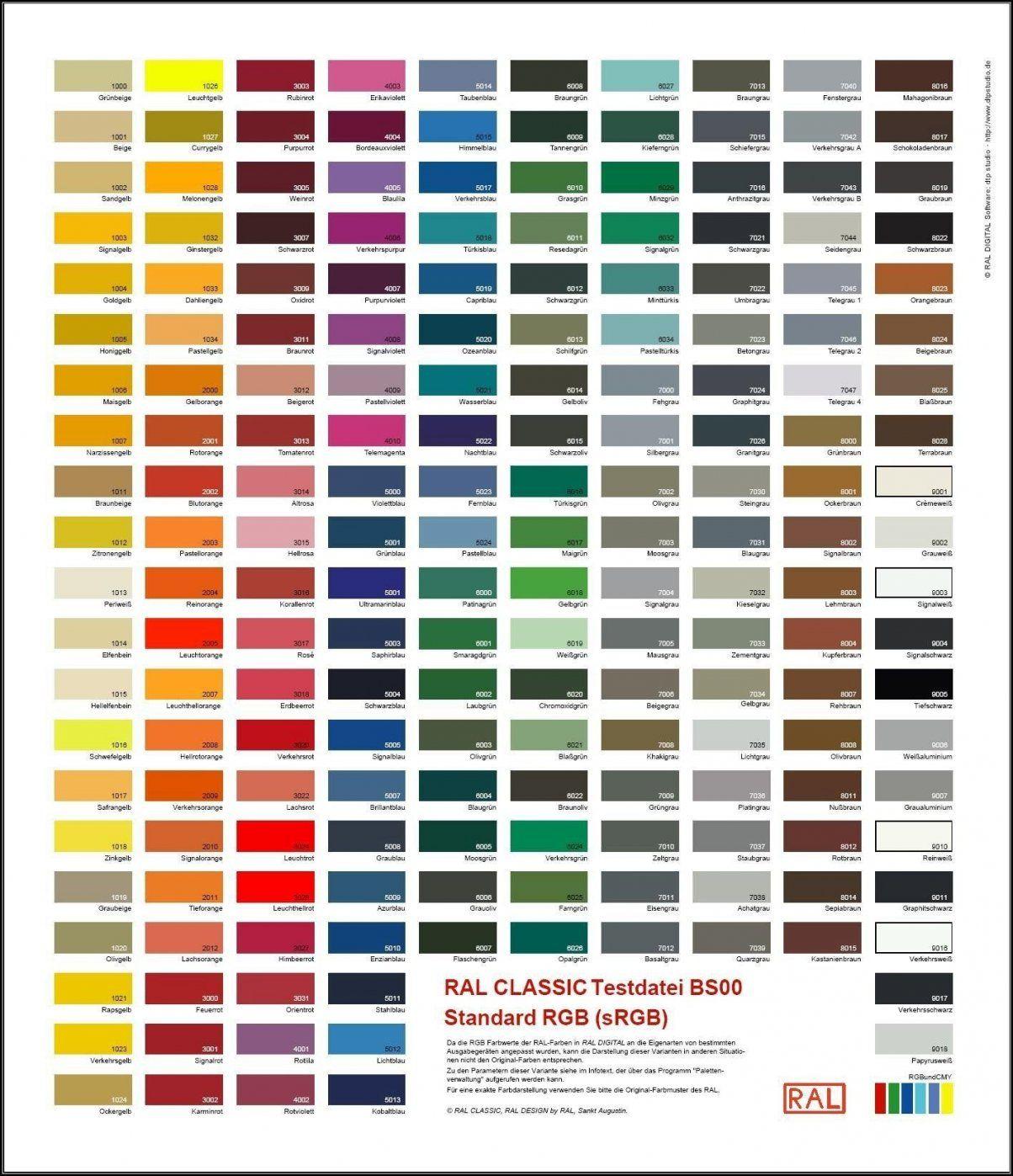 Wandfarbe Grun Palette Ral Farben Mischen Tabelle Inspirierend