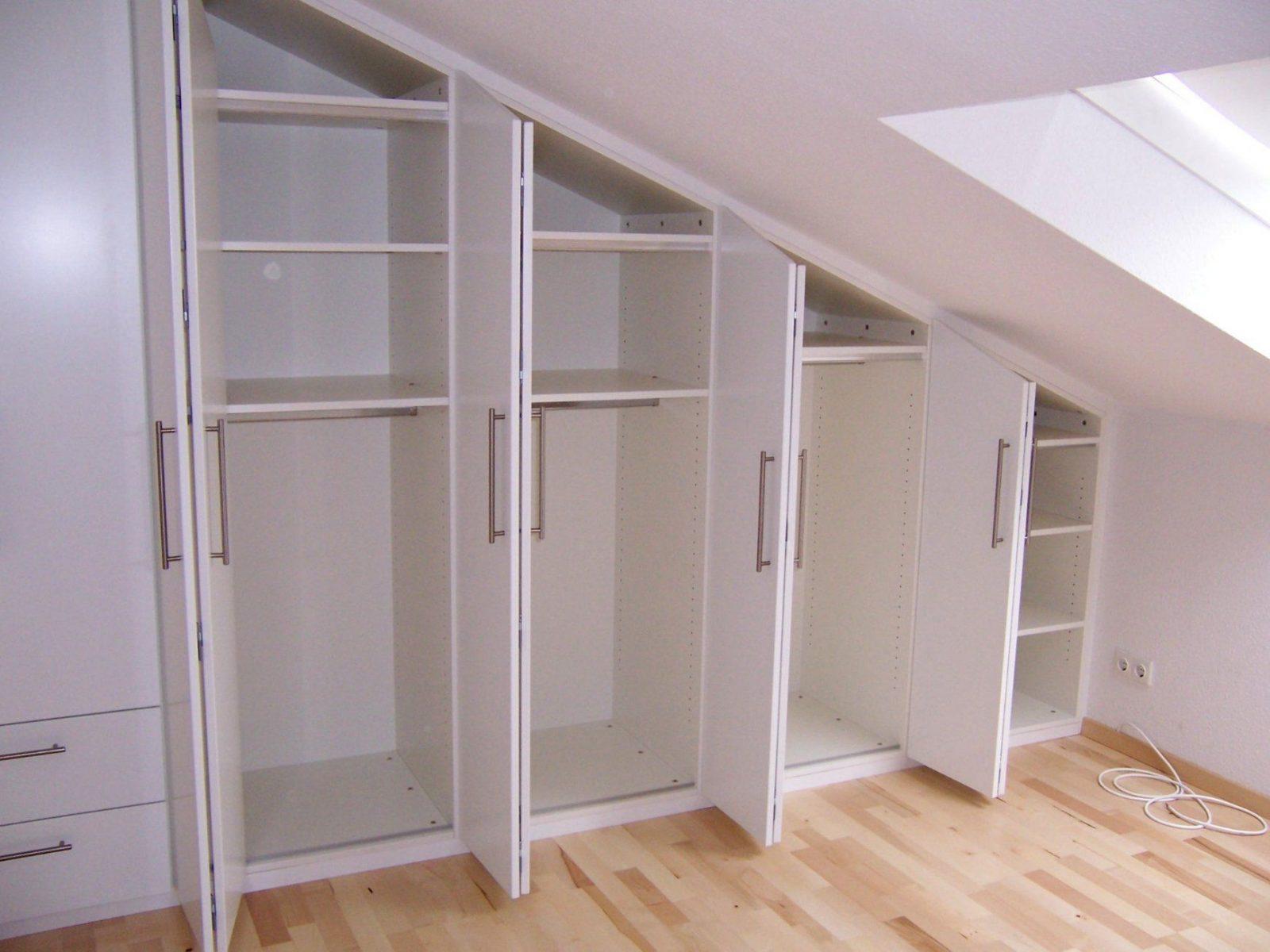 Kleiderschranke Unter Dachschrage Furniture Begehbarer