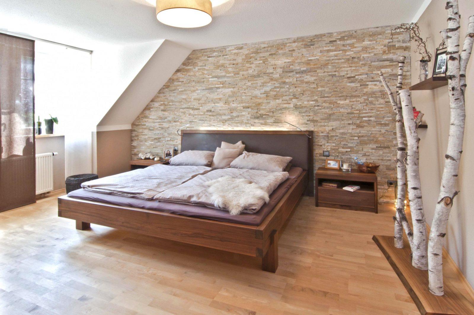 15 Schlafzimmer Deko Basteln Bilder Schlafzimmer Bett Holz Avec