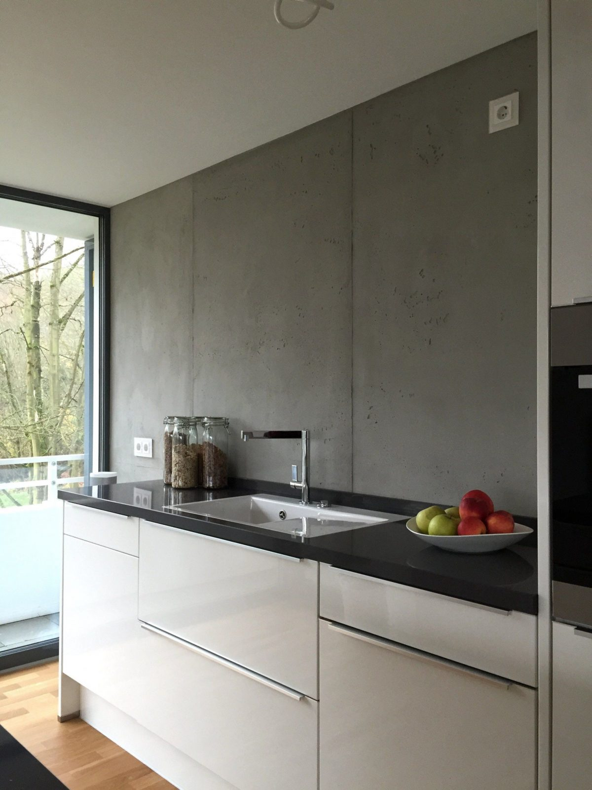 Abwaschbare Farbe Statt Fliesen Küche | Elefantenhaut Wände Und ...