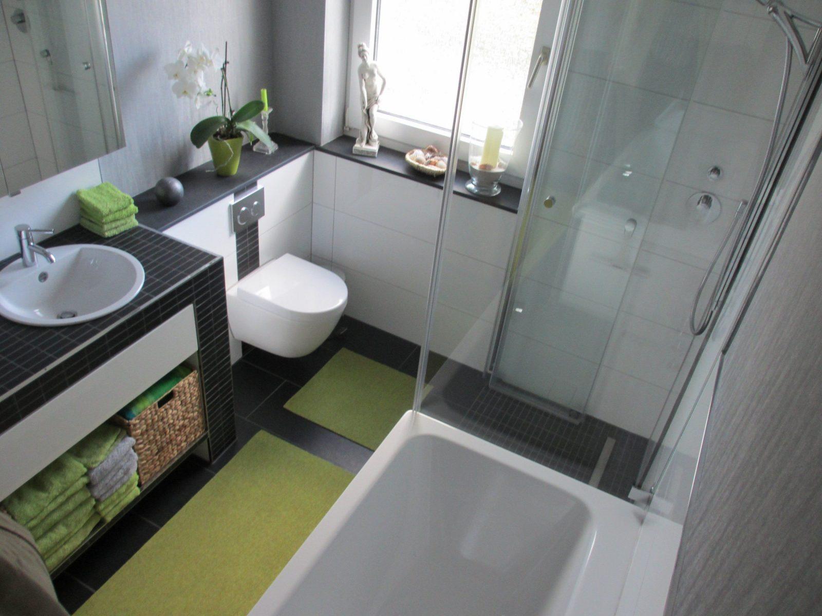 Ideen Für Kleine Badezimmer Mit Dusche Und Wanne | Sowie Moderne ...
