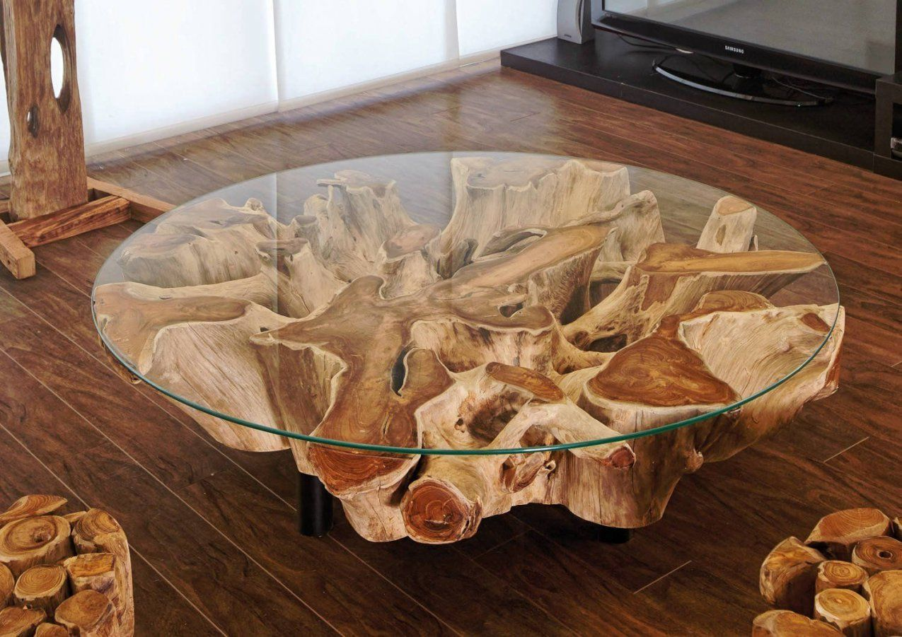 Couchtisch Baumstamm Selber Machen 20 Lovely Baumstamm Tisch