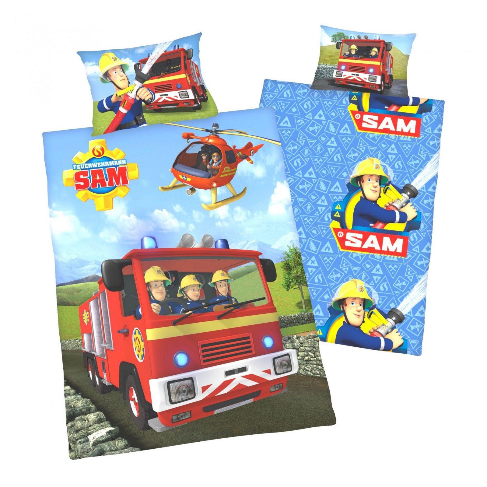 Bettwäsche Feuerwehrmann Sam 100x135