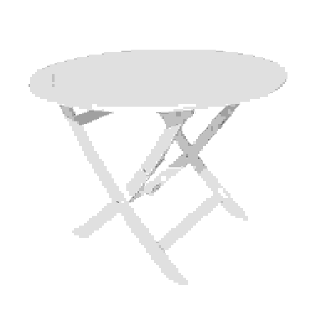 Gartentisch Rund Kunststoff Weiss Tisch Rund Wei Ikea Tisch Rund