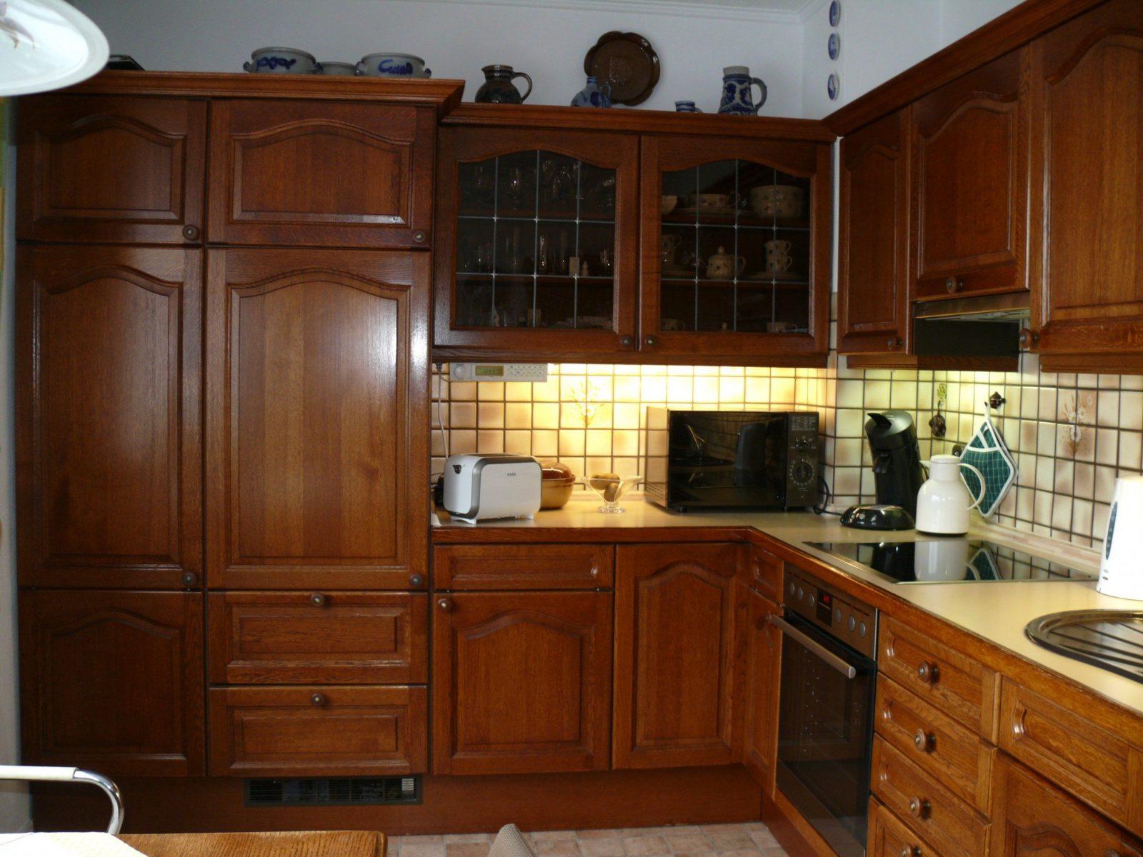 gebrauchte kuche eiche rustikal kaufen