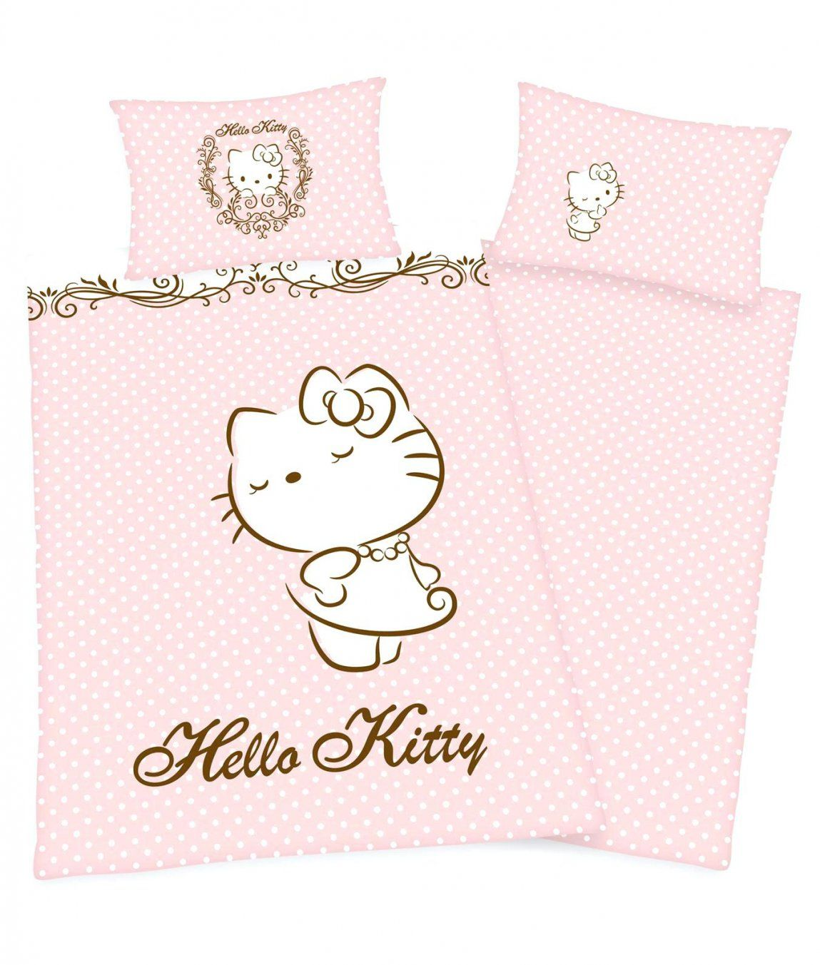 Hello Kitty Bettwäsche Hello Kitty Bettwäsche 100x135 Haus Design Ideen