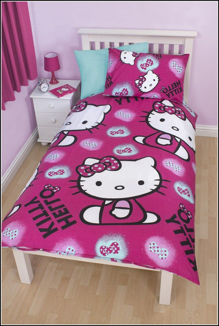 Bettwäsche Hello Kitty 135x200 Hello Kitty Bettwäsche Lidl Haus Design Ideen