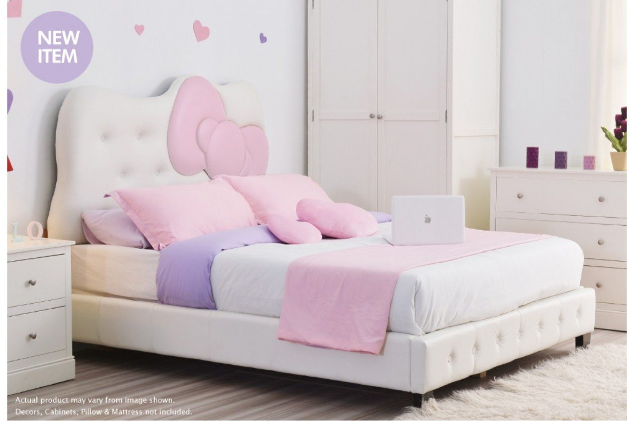 Hello Kitty Bettwäsche Aldi Hello Kitty Headboard Queen Nisartmacka Von Hello Kitty