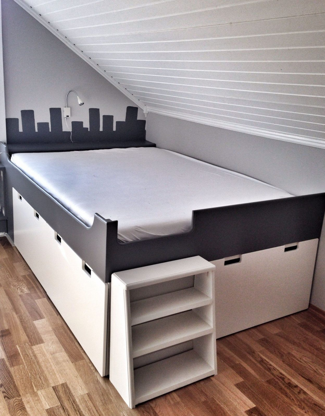 Bett Regal Ikea Bett Aus Ikea Regal Bauen Haus Design Ideen