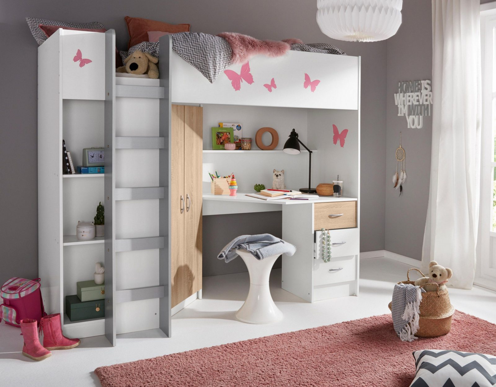 Ikea Etagenbett Metall : Möbel etagenbett ikea hochbett metall kura