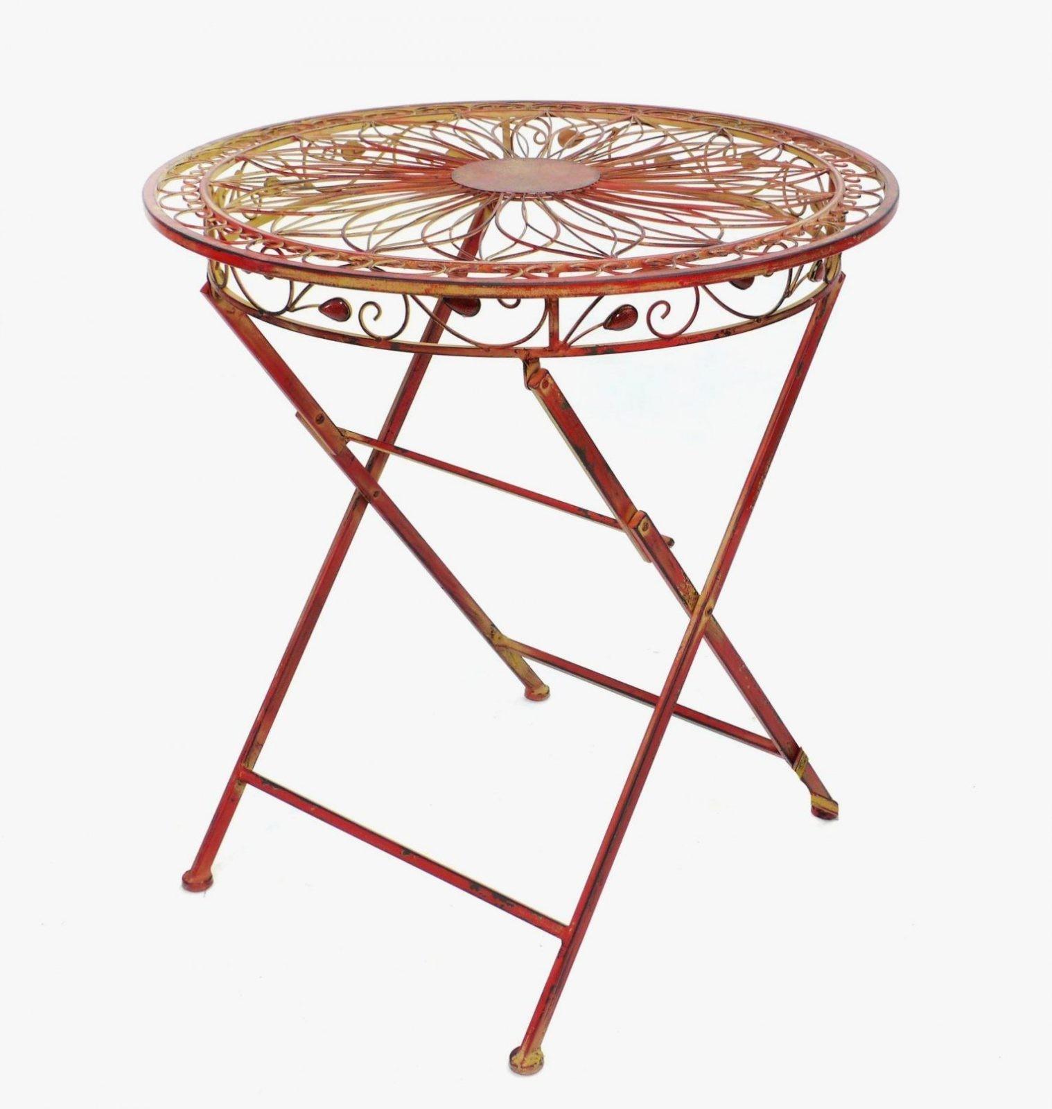 Kleiner Runder Gartentisch Metall Gartentisch Metall Rechteckig