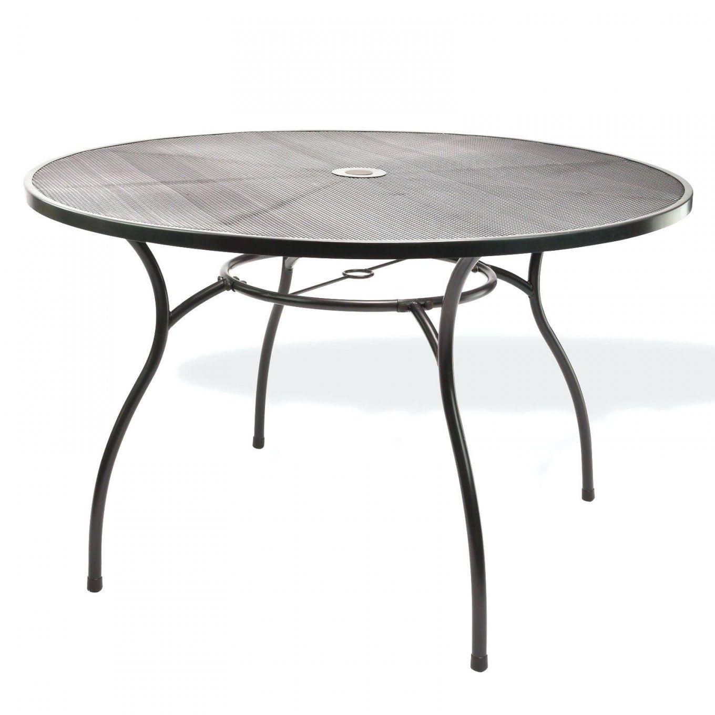 Runder Gartentisch Metall Tisch Garten Gartenschau
