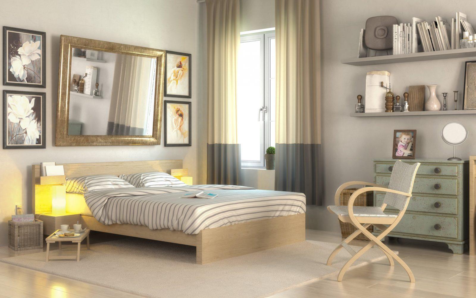Großes Schlafzimmer Gemütlich Einrichten | Wohninspiration Auf 35qm ...