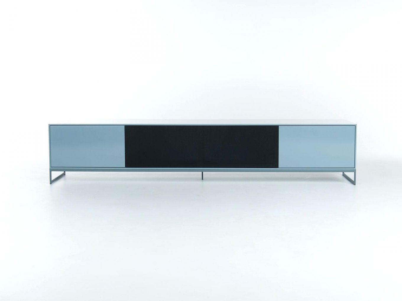 Lowboard Weiß Hochglanz 3m