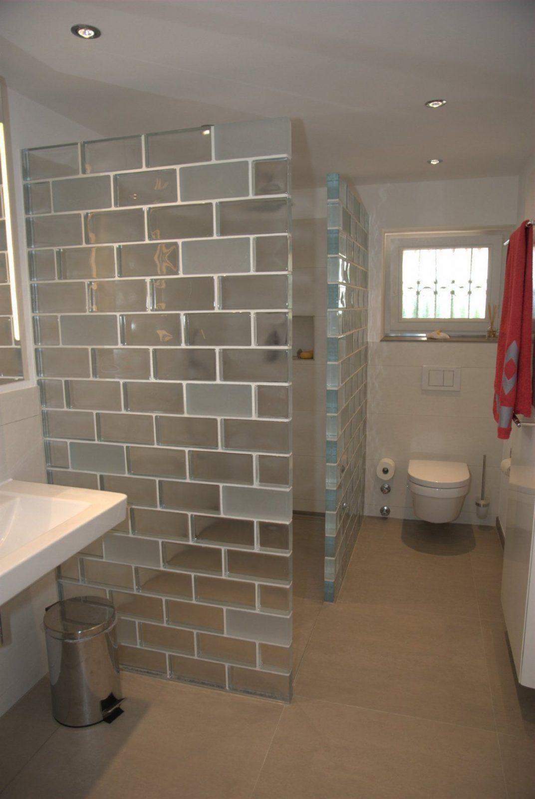 Badezimmer Mit Glasbausteinen Tritschler Glasundform Glasbausteine