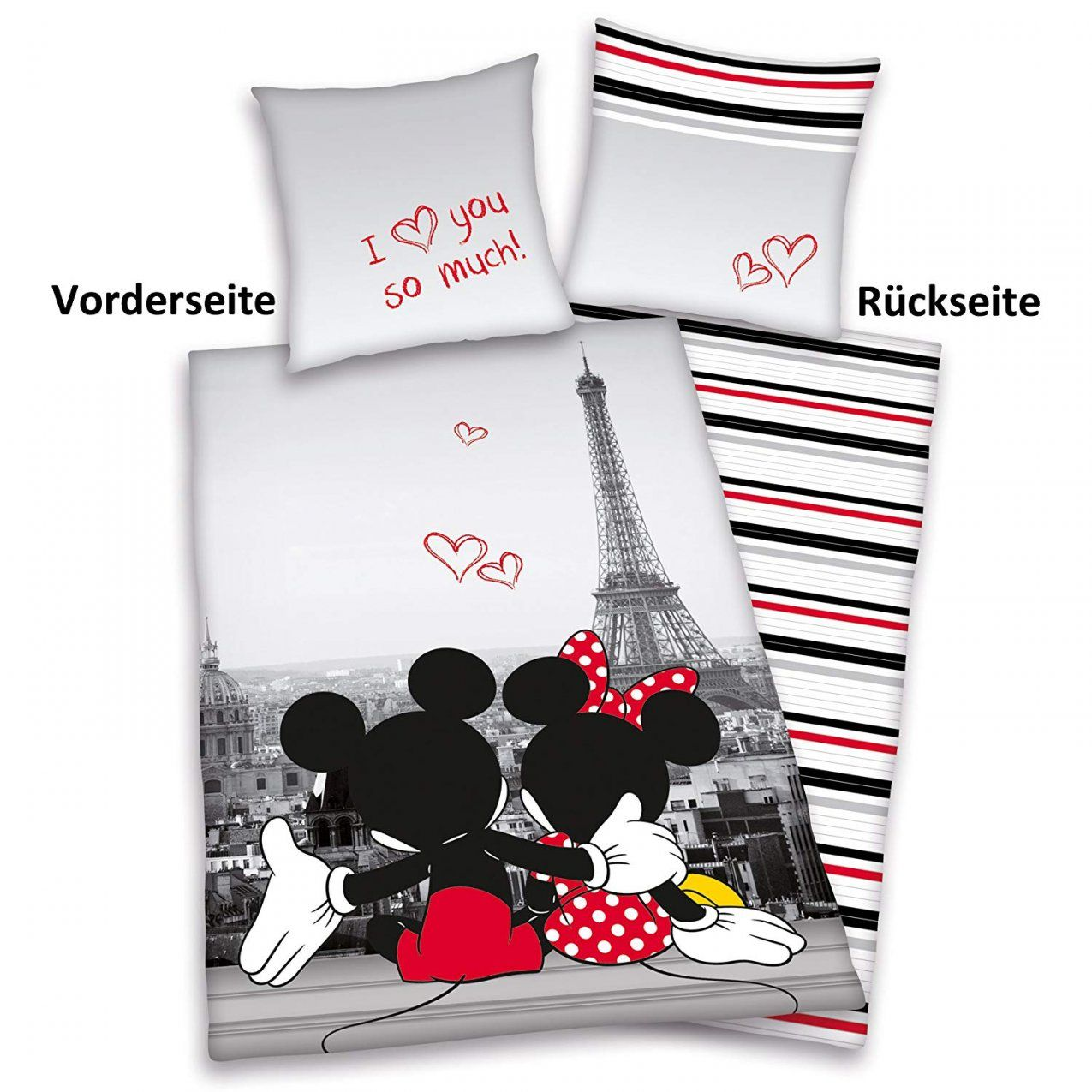 Mickey Mouse Queen Bettwaesche Set Dibinekadar Decoration