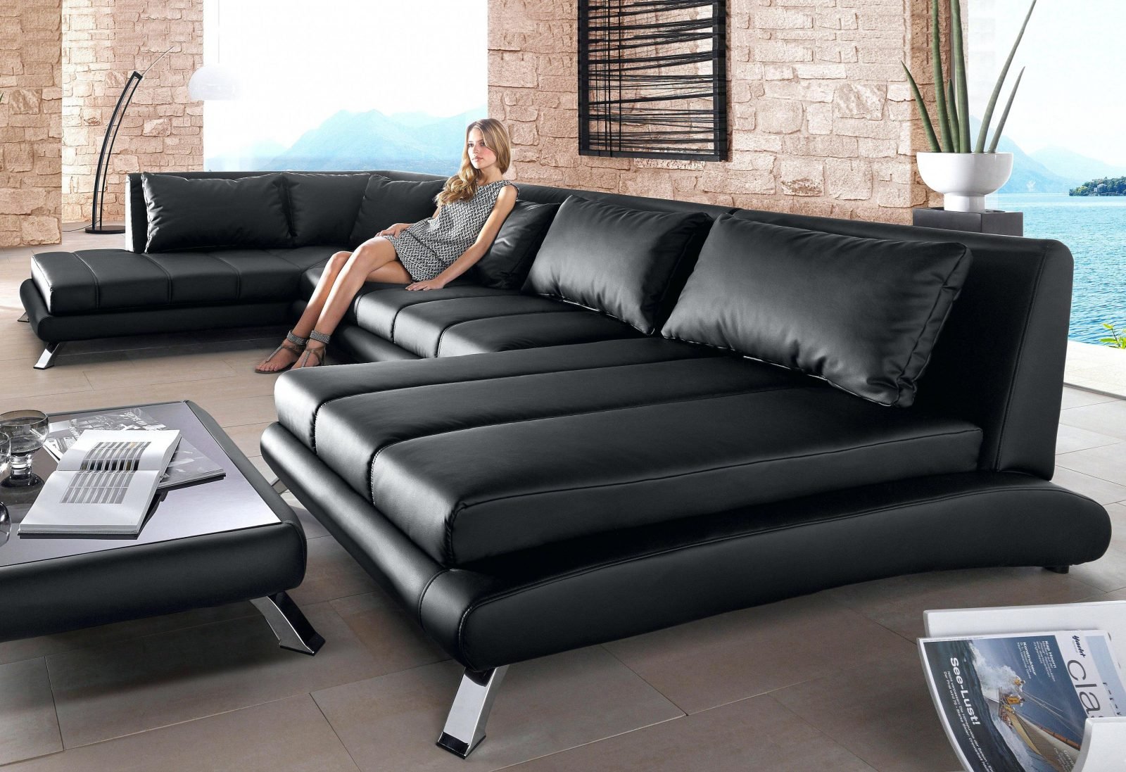 Ecksofa Sit And More Kleine Ecksofa Gebraucht Chesterfield Poco