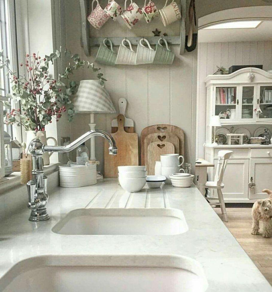 Shabby Chic Selber Machen Der Romantik Look Für Zuhause: Küche Shabby Chic Selber Machen