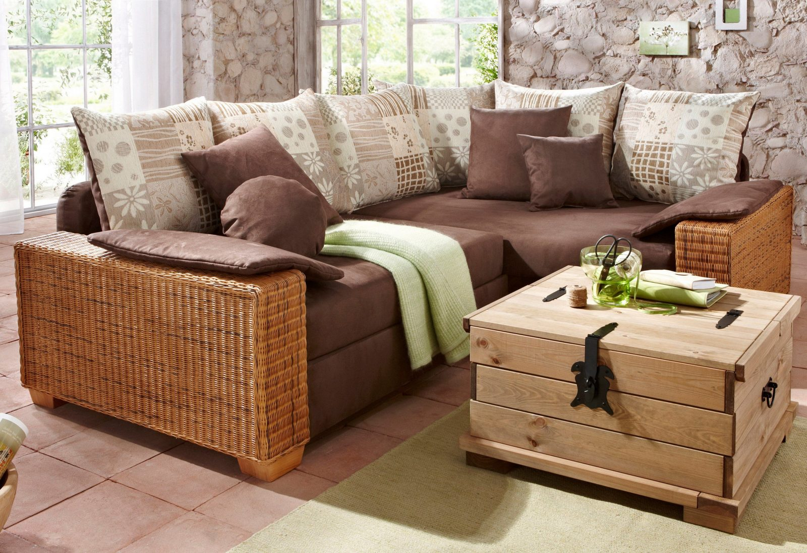 Rattan Sofa Outdoor Mit Dach Rattan Sofa Mit Bettfunktion