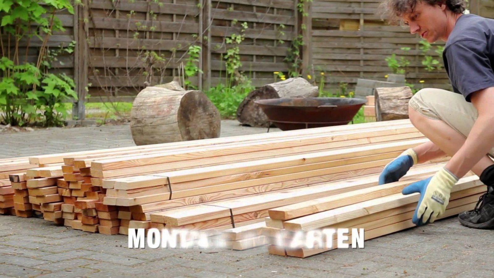 Zaun Bauen Holz | Zaunelemente Aus Holz Zaun Design Sichtschutzzaun ...