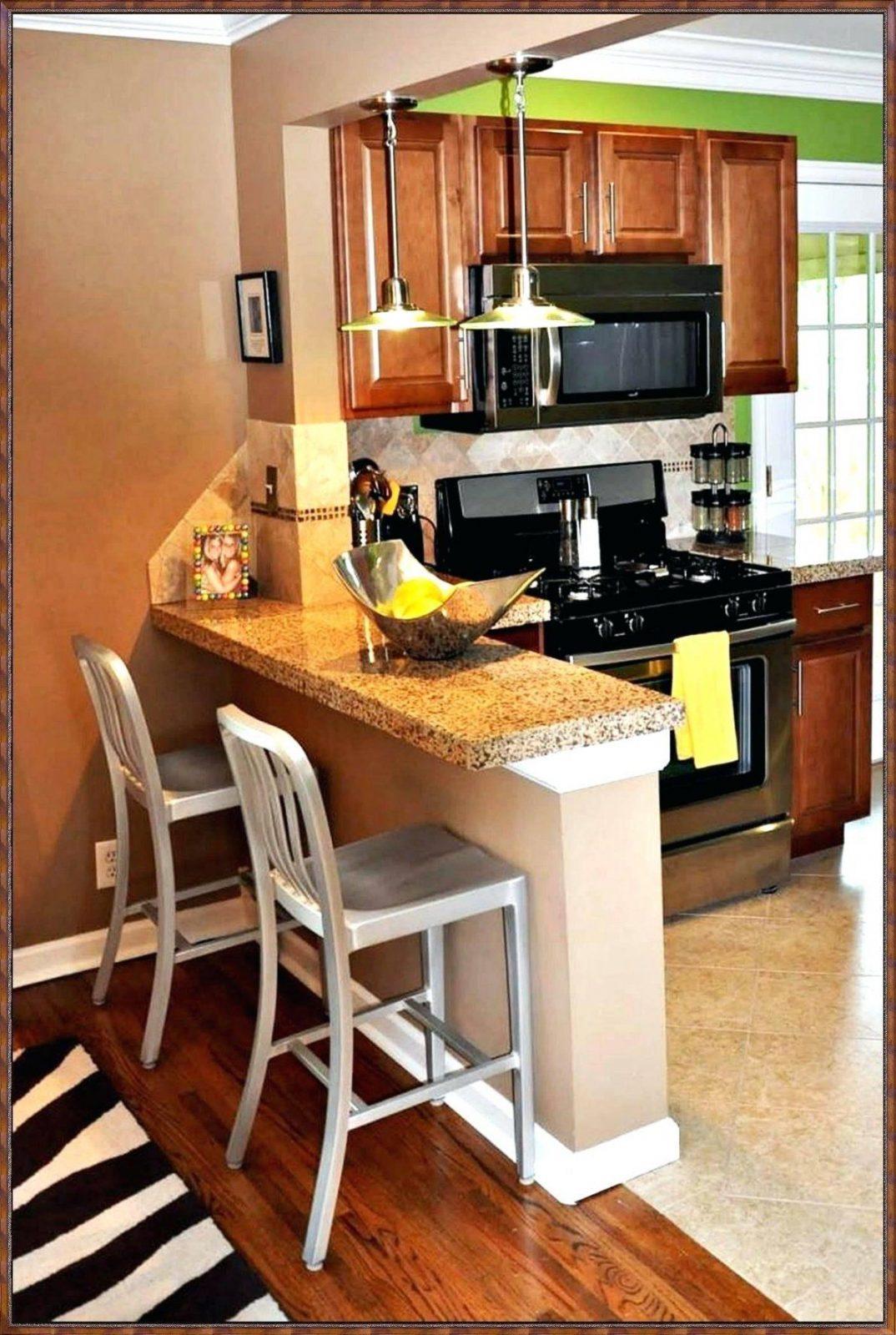 Tresen Küche Bauen | Küche Mit Holztheke Moderne Kuche Mit Tresen