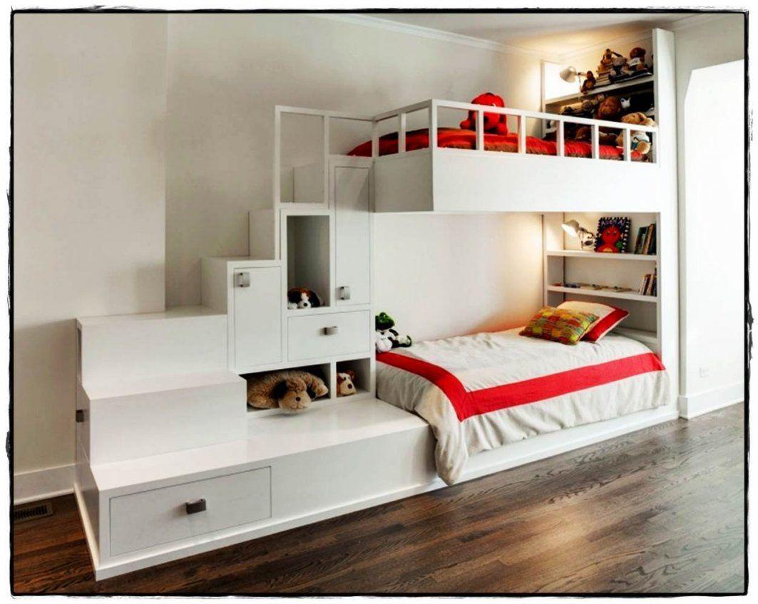 Etagenbett Mit Treppenaufgang : Hochbett mit stufen treppe selber bauen