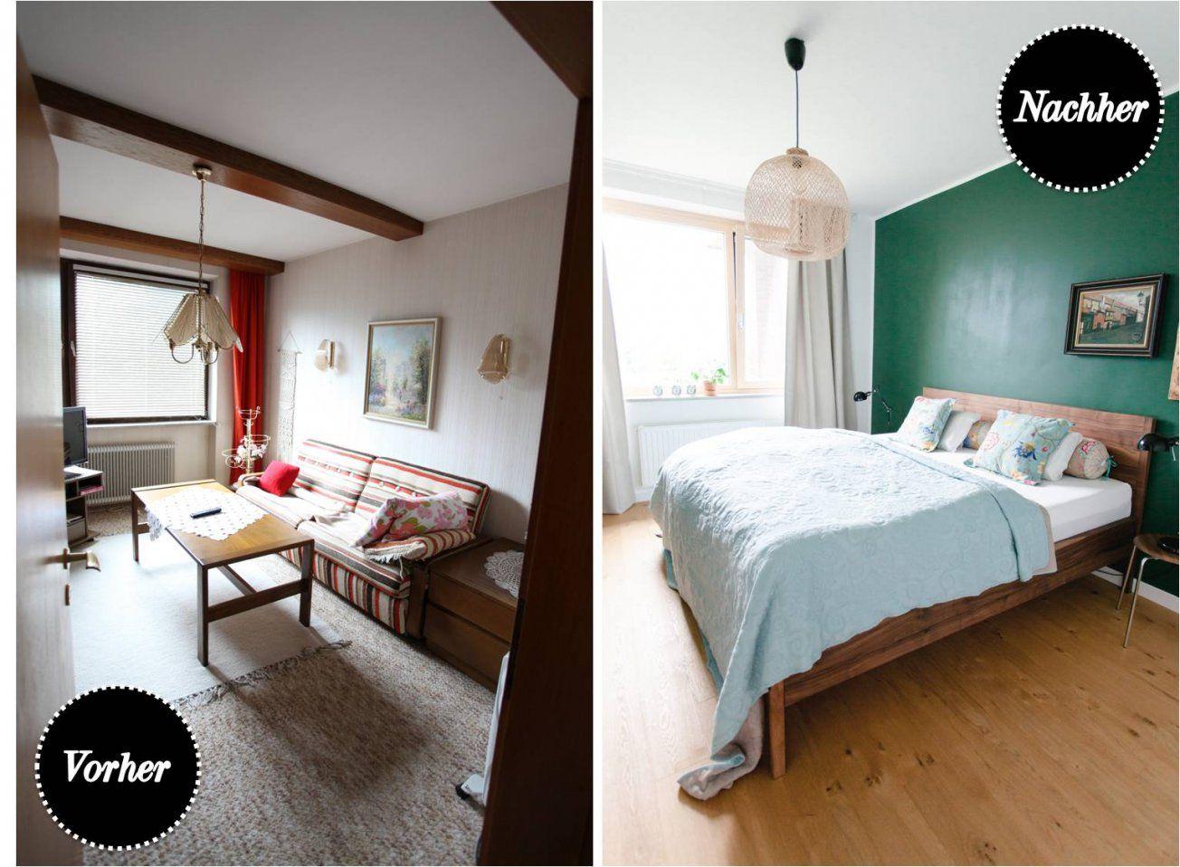 Schlafzimmer Renovieren Vorher Nachher