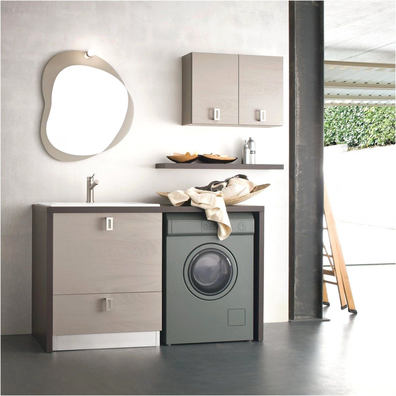 Badezimmer Unterschrank Waschmaschine Ikea Kuche Mit Waschmaschine
