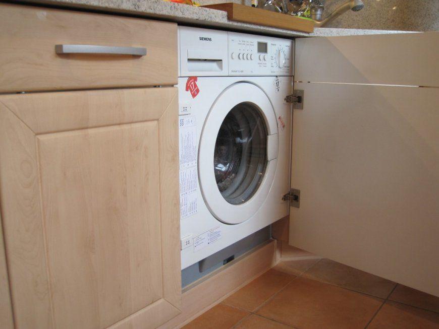 Waschmaschine In Küche