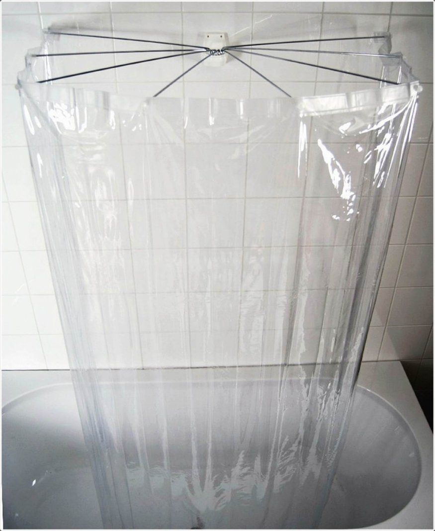 Duschvorhang U Form   Duschvorhangstange U Form Badewanne Schön ...