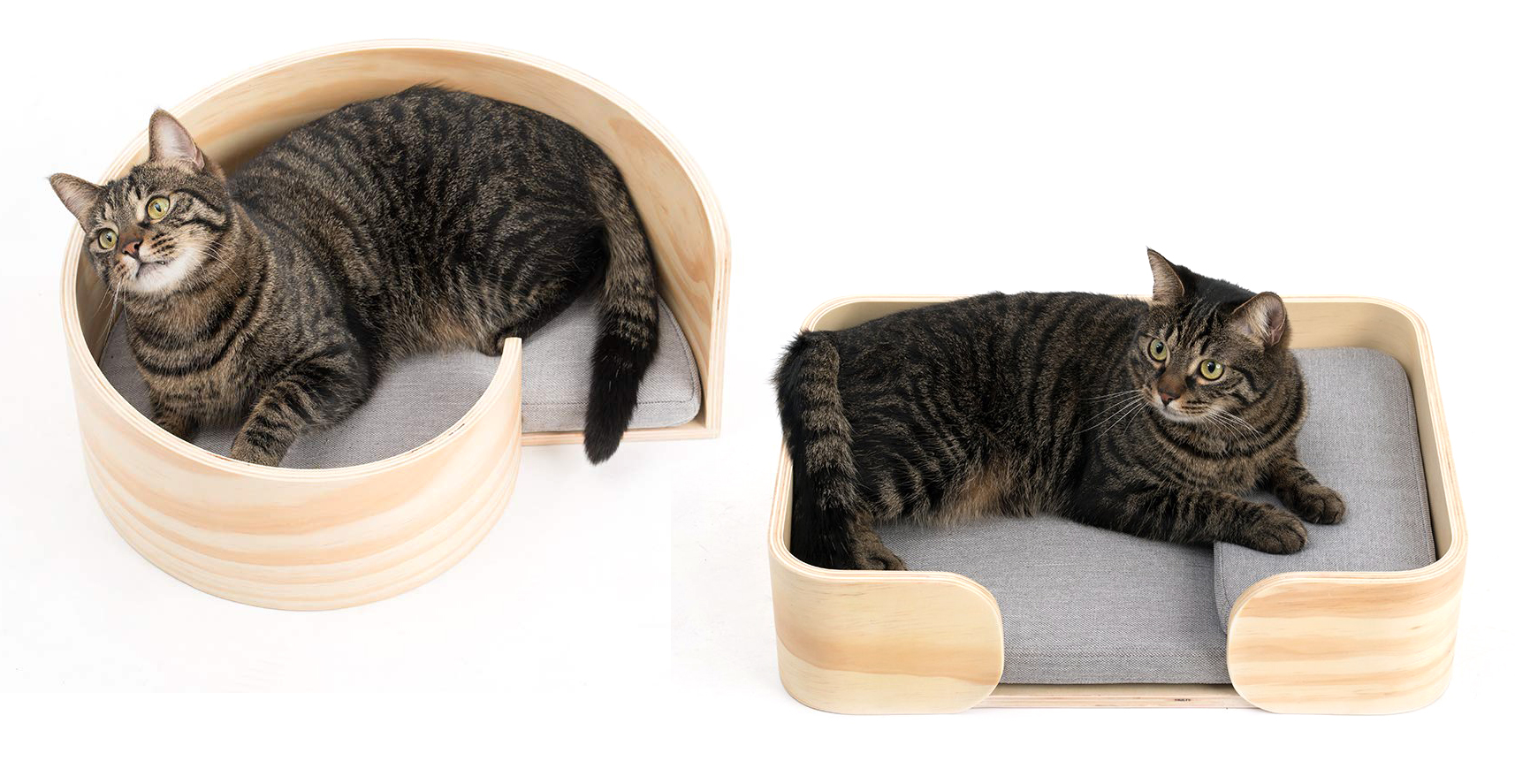 Designer Cat Beds Woodencat Modern Cat Beds From Pidan Studio Hauspanther