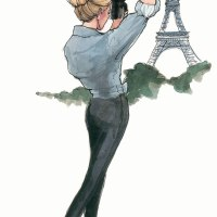 Paris Anyone? - Fashion Illustrations by Inslee