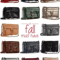 A Must Have Handbag: Rebecca Minkoff's Mini M.A.C in 14 Fabulous Fall Colours