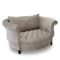 Cuddle Chair - Various Color Fabric Chair - HauteHouseHome.com