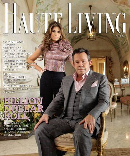 Internet Online Shopping Loren And Jr Ridinger Grace The Cover Of Haute Living Miami! Now Online! - Haute Living