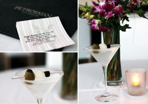 Petrossian West Hollywood - Caviar Martini