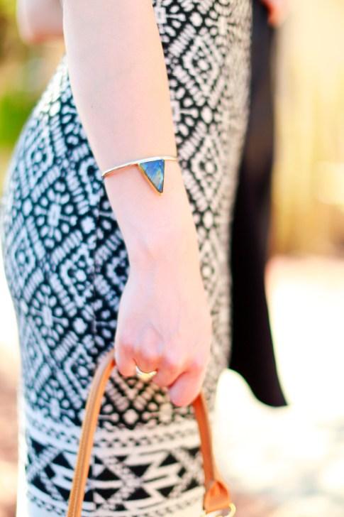 An Dyer wearing Lena Bernard Cuff