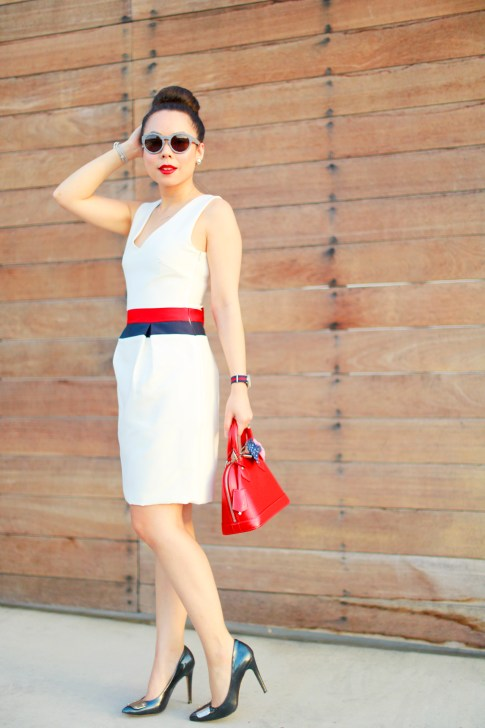 An Dyer Mad Men 4th of July Memorial Labor Day Street Style