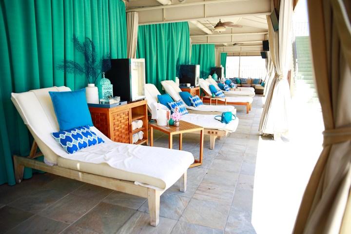 Beverly Wilshire Pool Cabanas