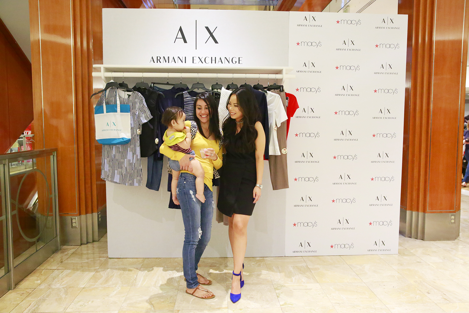 Event Recap Macys Armani Exchange Haute Pink Pretty Bloglovin