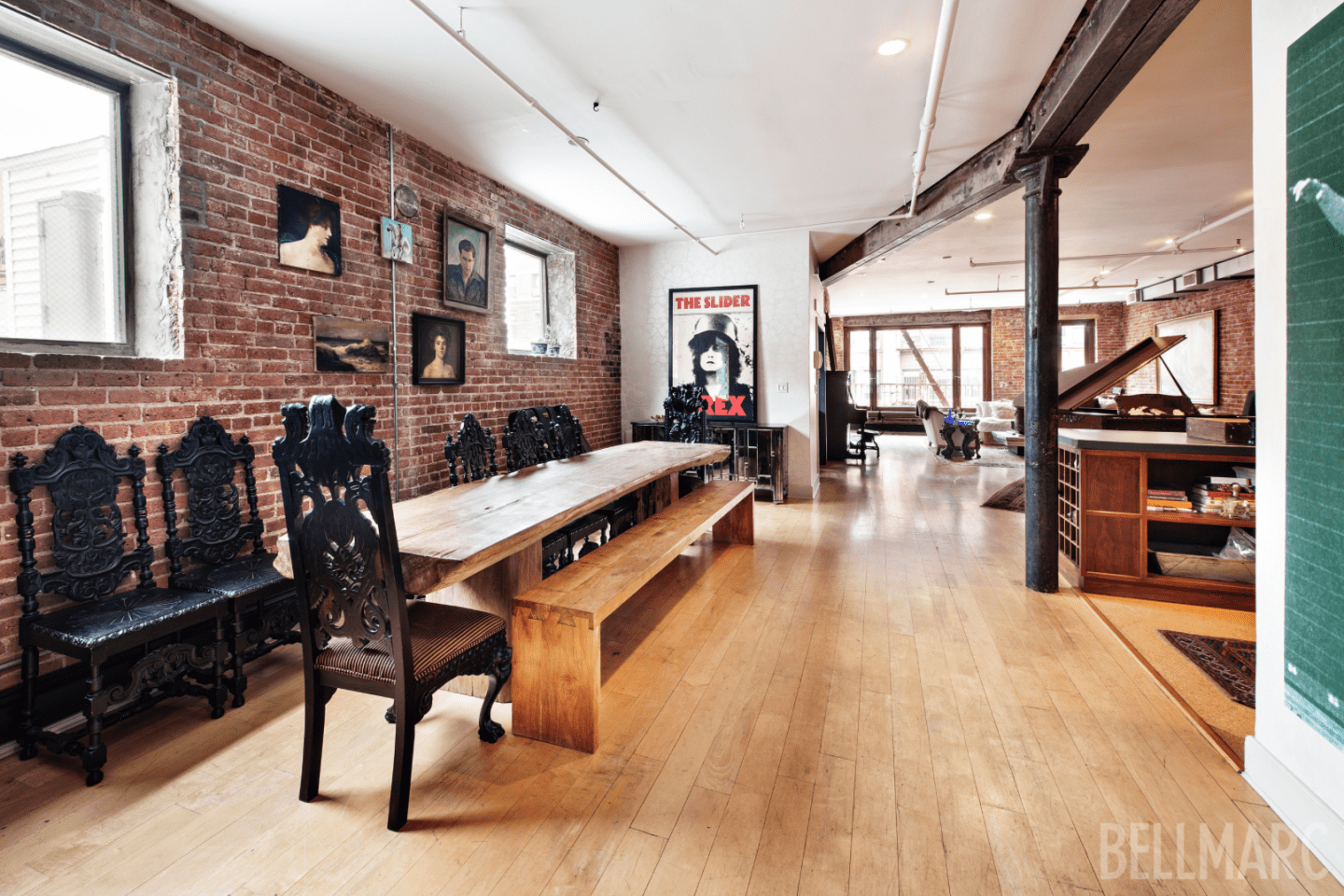 Two Floor Apartment Nyc Rent Vanessa Carlton 39s Soho Loft For 17 500 A Month